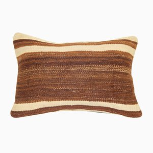 Lumbar Turkish Hemp Rug Cushion Cover