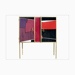 Vintage Multipurpose Furniture with Roberta di Camerino Fabric