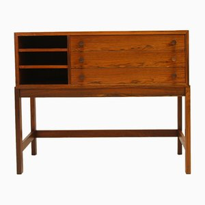 Scandinavian Rosewood Chest of Drawers or Tv Cabinet, 1960s