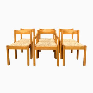 Dining Chairs by Vico Magistretti for Cassina, 1960s, Set of 6