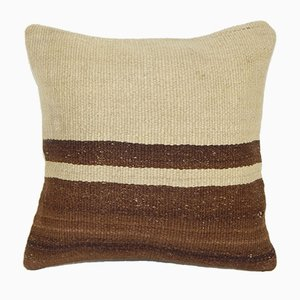 Striped Organic Hemp Kilim Cushion Cover