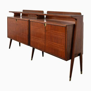 Mid-Century Italian Rosewood Sideboard by La Permanente Mobili Cantù, 1960s