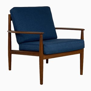 Mid-Century Teak Lounge Chair by Grete Jalk for France & Søn / France & Daverkosen, 1960s