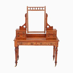 19th Century Victorian Pitch Pine Dressing Table