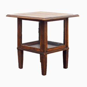 Oak Showcase Table, 1940s