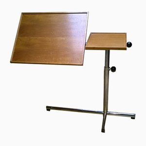 Modular Lectern & Chair by François Caruelle for Embru, 1980s, Set of 2
