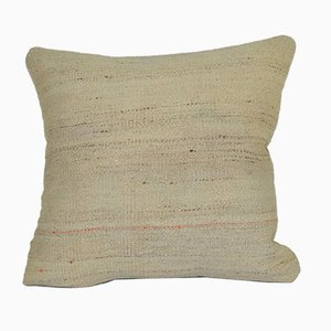 Organic Sand Hemp Kilim Cushion Cover