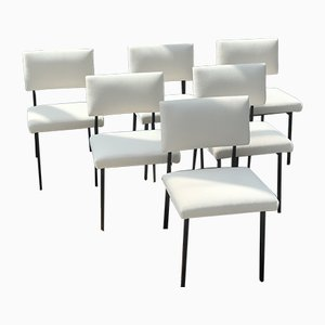 Vintage Dining Chairs by Gerard Guermonprez for Magnani, 1960s, Set of 6