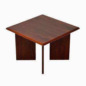 Vintage Danish Rosewood Side Tables, 1970s, Set of 2