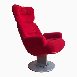 Vintage Parisian Cinema Chair