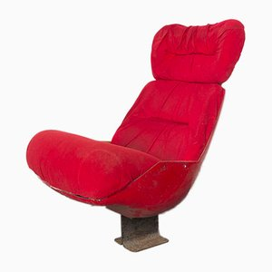 Chaise de Cinéma Parisien Vintage