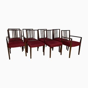 Rosewood Dining Chairs by Robert Heritage for Archie Shine, 1960s, Set of 8