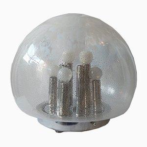 Lampada da tavolo Mid-Century a 8 luci di Mazzega