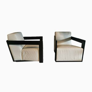 Italian Armchairs by Porada, 2000s, Set of 2