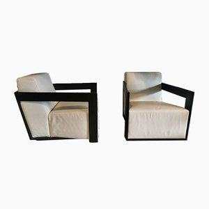 Italian Armchairs by Porada, 2000s, Set of 2