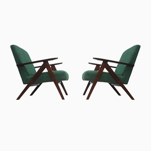 Mid-Century Easy Chair Model B - 310 Var in Forest Green, 1960s