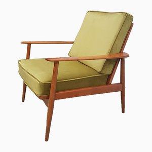Mid-Century Antimott Armchair by Walter Knoll / Wilhelm Knoll, 1960s