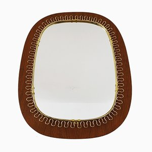 Vintage Swedish Mirror, 1950s