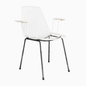 Garden Wire Chair by Karl Fichtel for Eisen- und Drahtwerke Erlau AG, 1950s