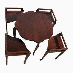 Vintage Teak Nesting Tables, 1970s