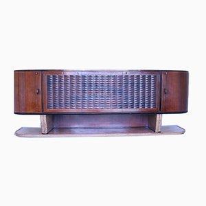 Vintage Rosewood and Marble Sideboard