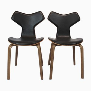 Model 4130 Grand Prix Chairs by Arne Jacobsen for Fritz Hansen, 2018, Set of 2