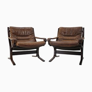 Siesta Chairs by Ingmar Relling for Westnofa, Norway, 1970s, Set of 2