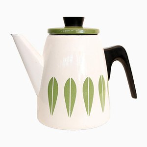 Enamel Lotus Teapot by Grete Prytz Kittelson, 1960s