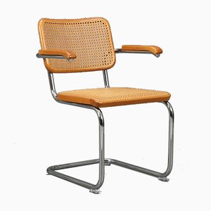 Brown S64 Cantilever Chair from Thonet, 1980s