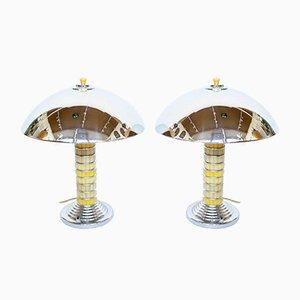 Dome Tischlampen, 2er Set