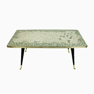 Mid-Century Mosaic Coffee Table by Berthold Müller for Atelier Müller-Oerlinghausen