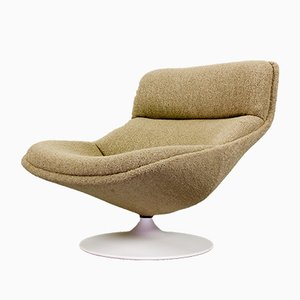 F522 Lounge Swivel Chair by Geoffrey Harcourt for Artifort, 1970s