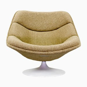 Mid-Century F557 Lounge Chair by Pierre Paulin for Artifort, 1960s