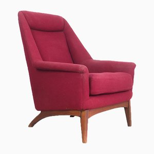 Vintage Swedish Lounge Chair from Dux, 1960s