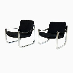 Swedish Lounge Chairs by Arne Norell for Arne Norell AB, 1970s, Set of 2