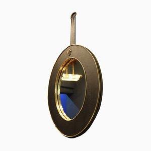 Mid-Century Italian Oval Mirror, 1950s