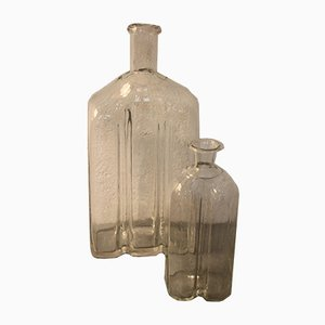 19th Century Alpine Bottles, Set of 2