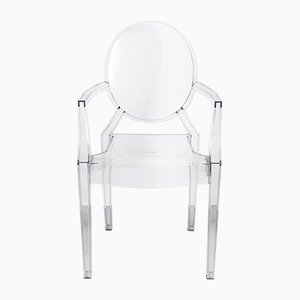 Louis Ghost Chairs by Philippe Starck for Kartell, 2000s, Set of 6