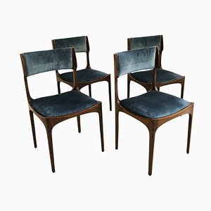 Italian Chairs by Giuseppe Gibelli for Luigi Sormani, 1960s, Set of 4