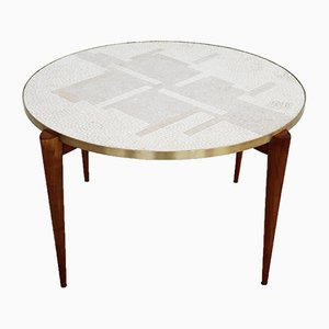 Vintage Mosaic Coffee Table, 1960s
