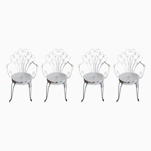 Garden Chairs, 1960s, Set of 4