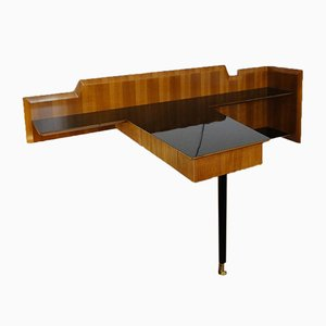 Vintage Italian Wall and Corner Desk, 1950s