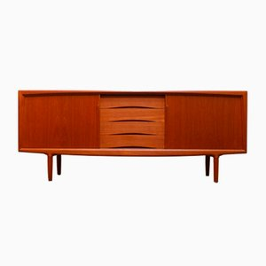 Danish Teak Sideboard by Axel Christensen for Omann Jun, 1950s