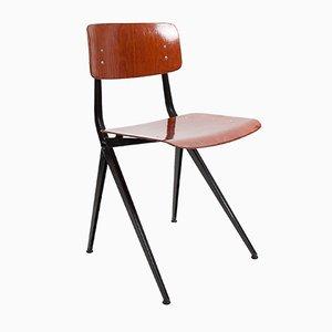 Chaise de Salon Mid-Century Moderne Industrielle Compass par Friso Kramer pour Marko, Pays-Bas, 1960s