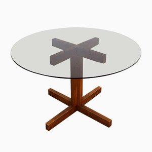 Italian Round Dining Table, 1970s