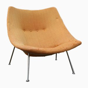 Large Oyster F157 Lounge Chair by Pierre Paulin for Artifort, 1960s