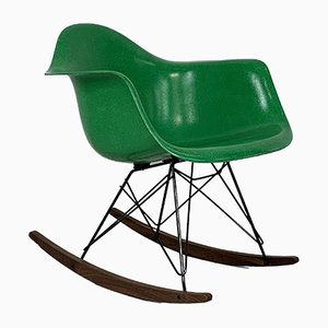 Mecedora RAR Mid-Century de Charles & Ray Eames para Herman Miller, años 50