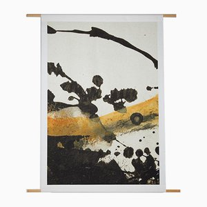 Printed Textile Composition by Janina Wesnæs Jørgensen, Denmark, 2016