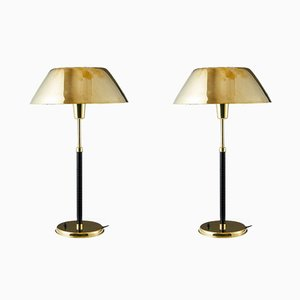 Table Lamps by Lisa Johansson-Pape for Orno, Finland, 1940s, Set of 2