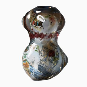 Fabula Vase by Per B Sundberg for Orrefors, Sweden, 2003
